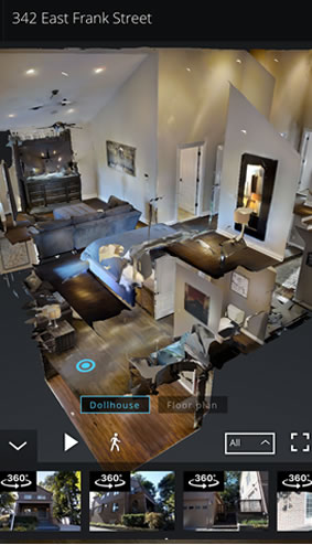 Virtually 3D Tour - Dollhouse View Virtual Reality