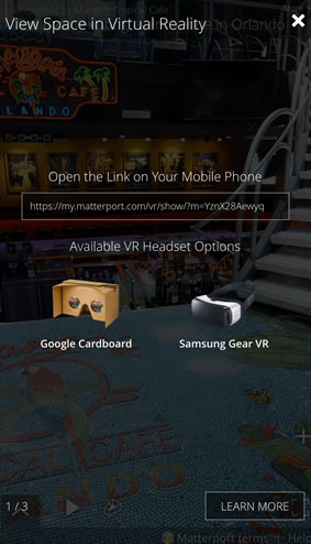 Virtually 3D Tour - Mobile Friendly Virtual Reality