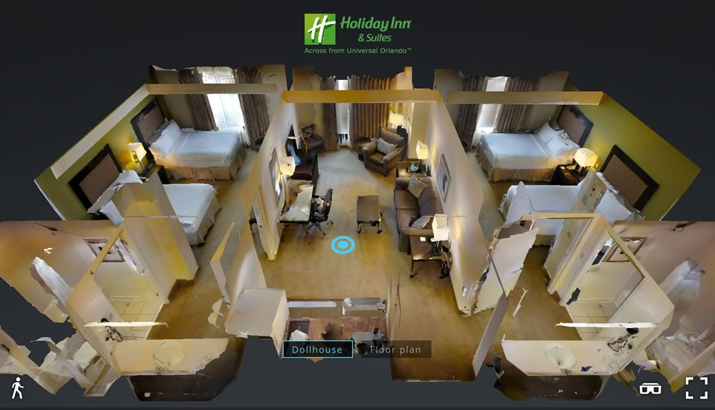 Virtually 3D Tour - Holiday Inn Universal Stidios