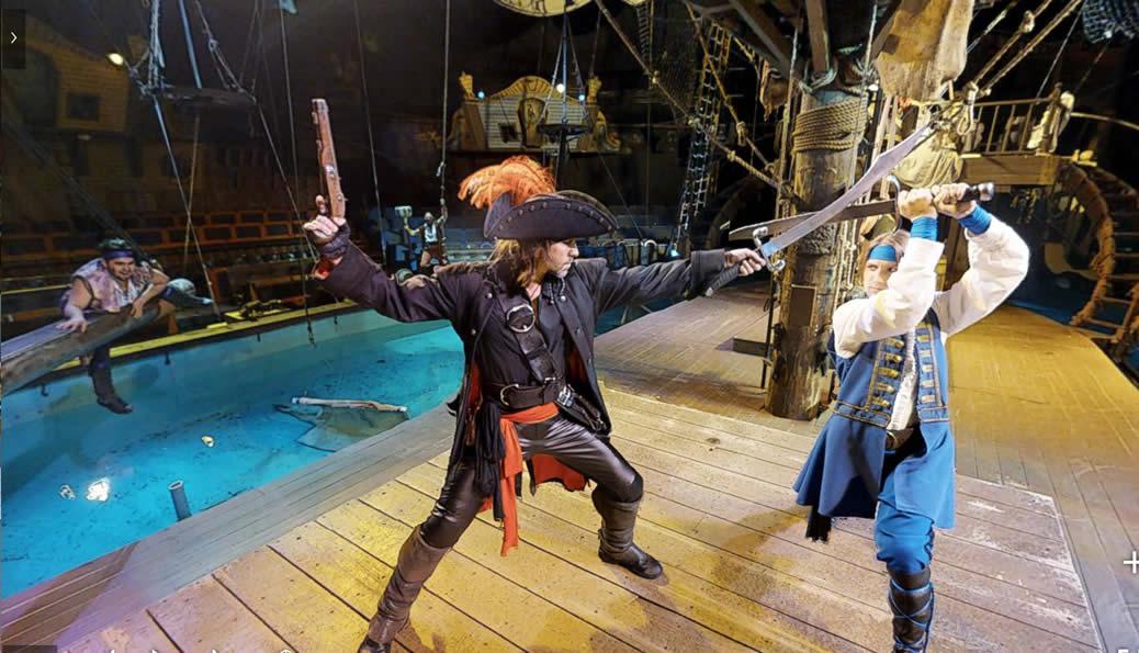 Pirates Virtually 3D Tour - Virtual Reality Marketing